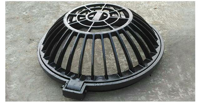 铸铁溢流井盖,海绵城市专用篦子
