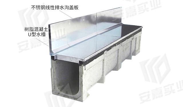 安嘉側縫式不銹鋼排水溝05